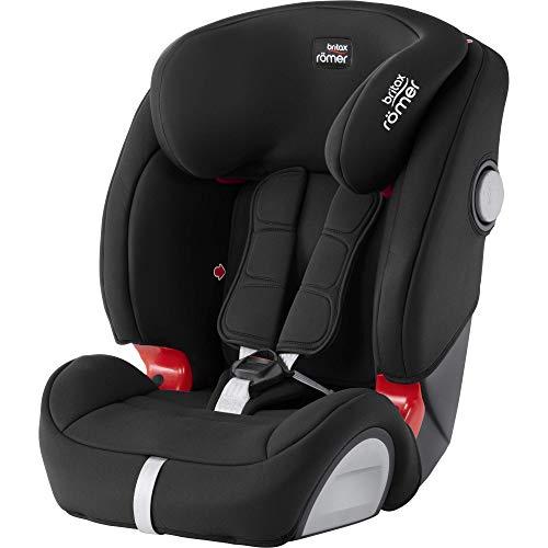 Britax Römer Kindersitz 9 Monate - 12 Jahre I 9 - 36 kg I EVOLVA 123 SL SICT Autositz Isofix Gruppe 1/2/3 I Cosmos Black