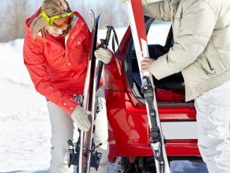 Nicht gut gesicherte Skier können sich bei einer Kollision in gefährliche Geschosse verwandeln. - Foto: dmd/thx